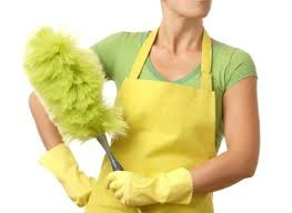Lady cleaning apartment in Southbank